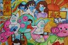 宣城市 广德市邱村中心小学六年级  刘雪扬 《众志成城抗病毒》_副本.jpg