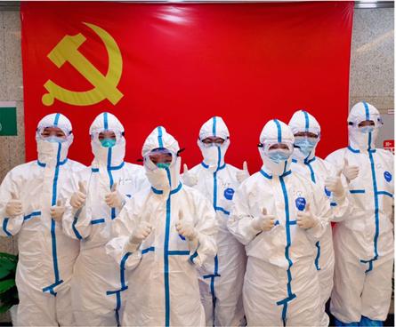 武汉同济医院各级党组织全力抗疫侧记