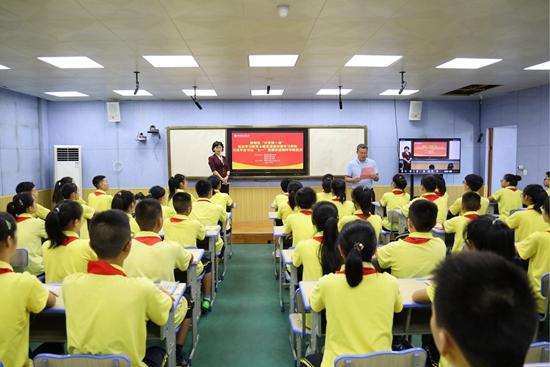 柳州市柳南区:弘扬伟大建党精神 做新时代好少年