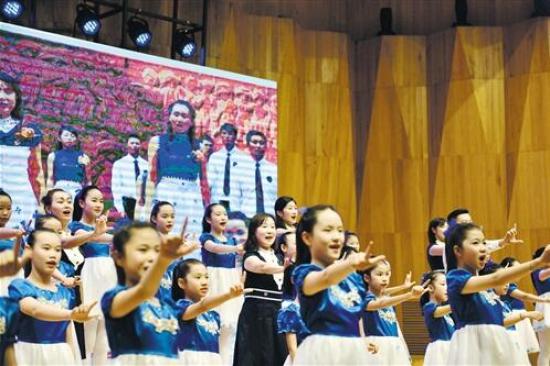 南宁市滨湖路小学举行新年音乐会