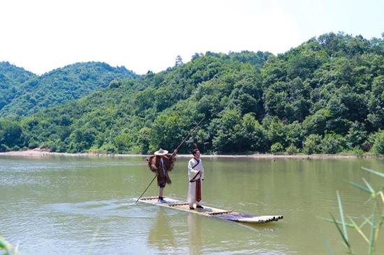 赏民俗 看大戏 商城县举行首届灌河源端午文化节