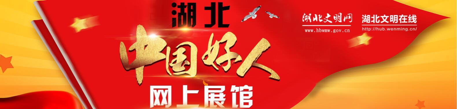 湖北中国好人网上展馆