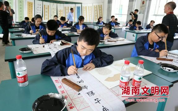 湖南建成乡村学校少年宫2300余所 国贫县覆盖率超九成