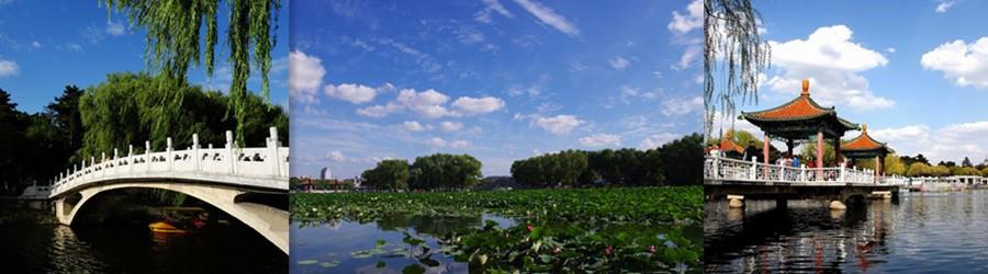长春南湖公园 东北最大的市内公园