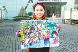 大家运用创意儿童画,动漫画,国画,油画,水彩,综合材料绘画,素描,速写图片