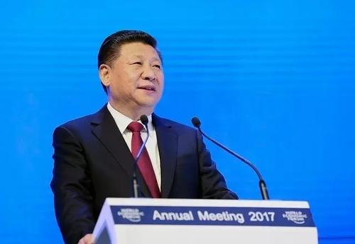 1月17日,国家主席习近平在瑞士达沃斯国际会议中心出席世界经济论坛2017年年会开幕式,并发表主旨演讲。