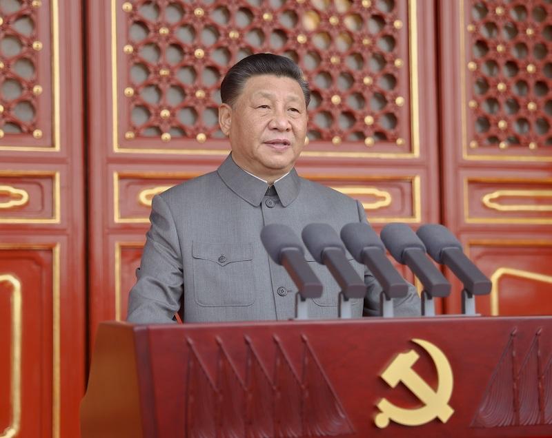庆祝中国共产党成立100周年大会在天安门广场隆重举行习近平发表重要讲话