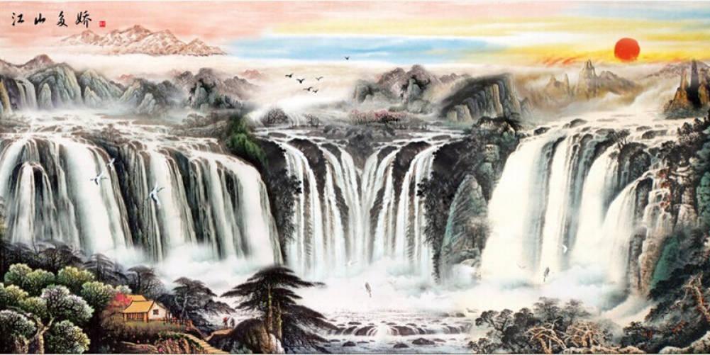 中国客厅最爱挂的十幅画 你家有吗图片