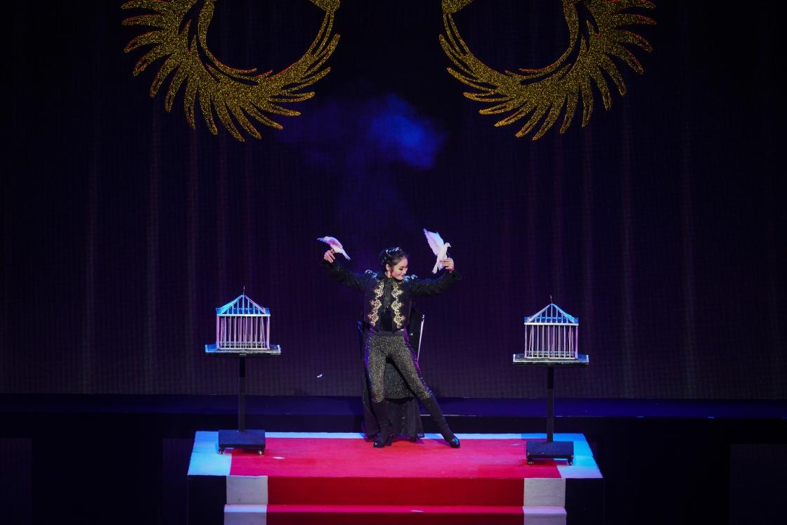 """杂技剧《海星花》:讲述魔术界""""白鸽皇后""""的"""