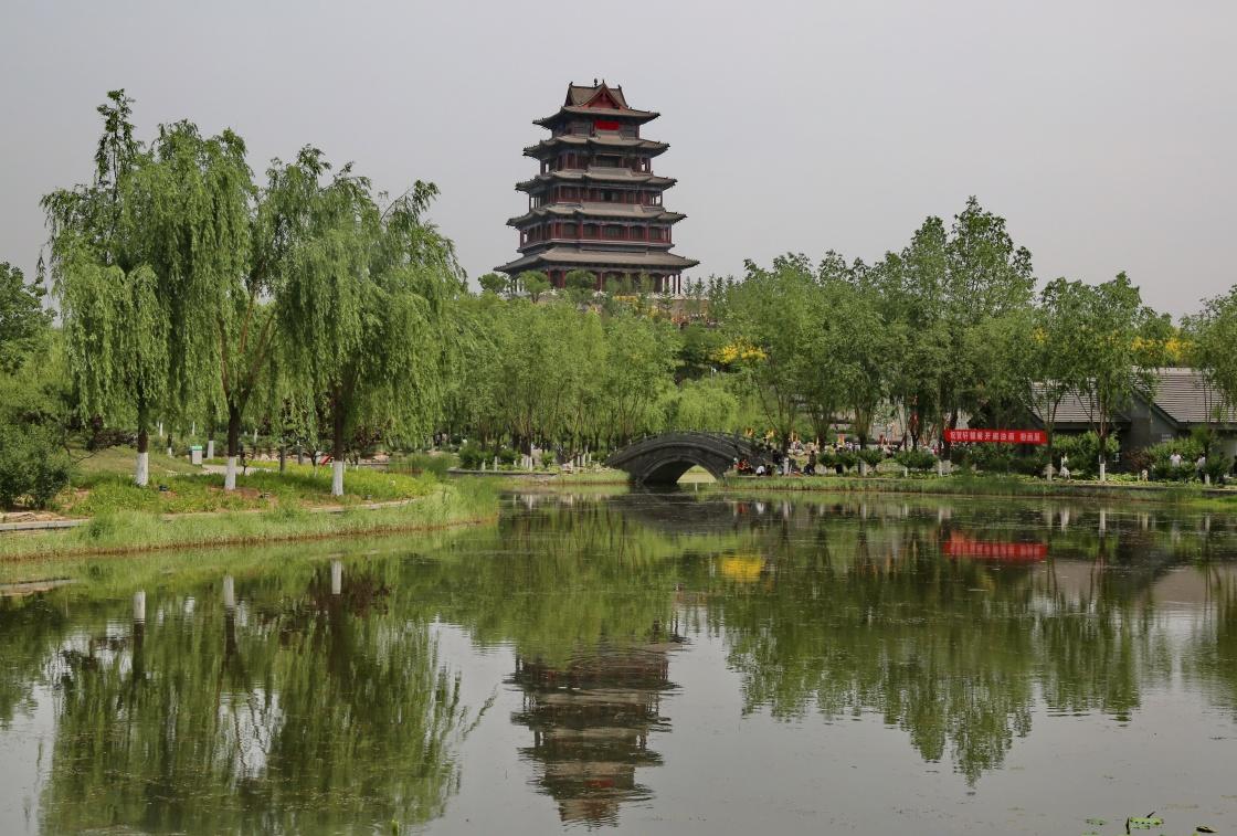 河北迁安:轩辕阁对游客开放