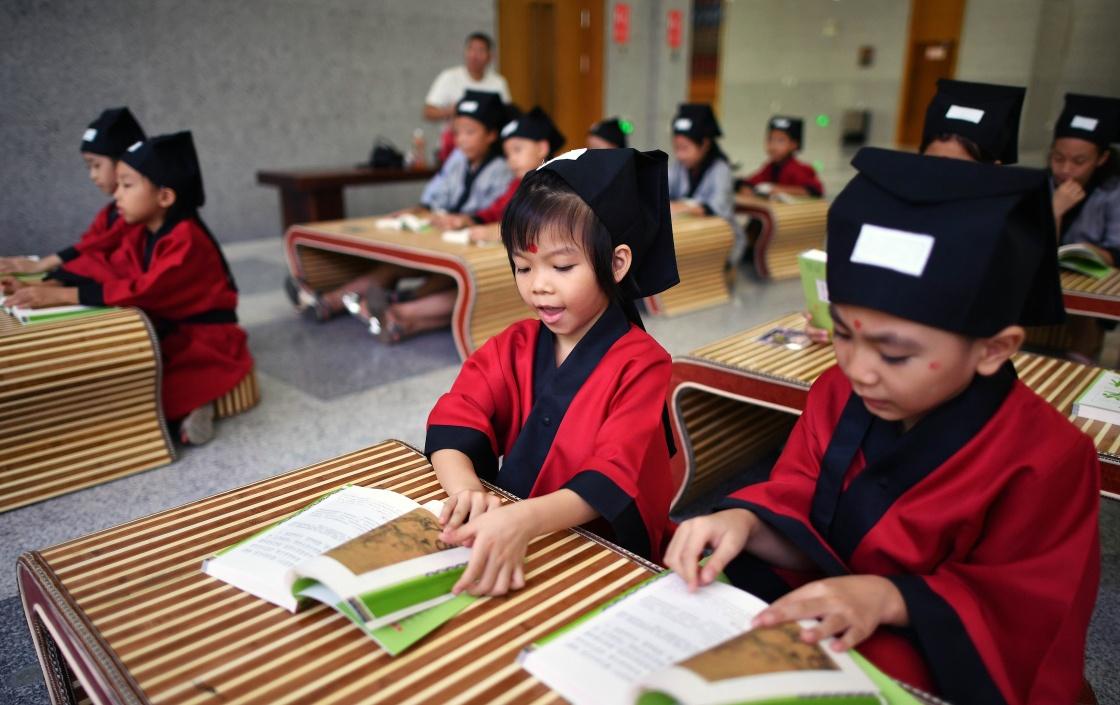 [传统]传统文化温润暑假生活