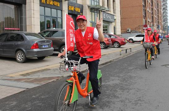4月16日,周智仁骑行28公里宣传无偿献血_副本.jpg