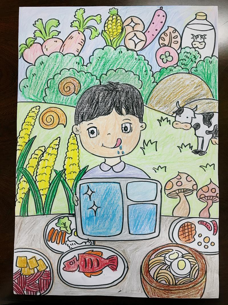 幸福生活节节高(绘画)作品:《幸福时光》-德化县新寨幼儿园--张銮英.jpg