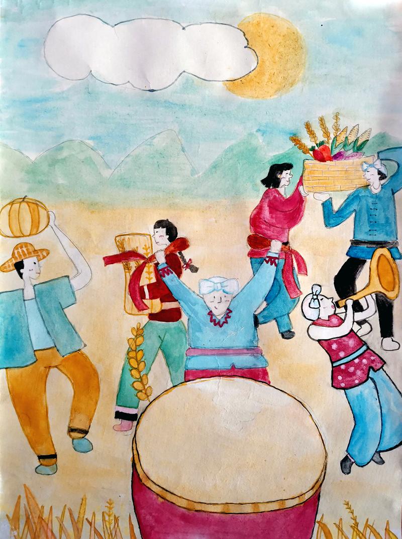 《丰收的喜悦》+四会市黄岗中学+钟凤芝+七年级1班+15875801980s.jpg