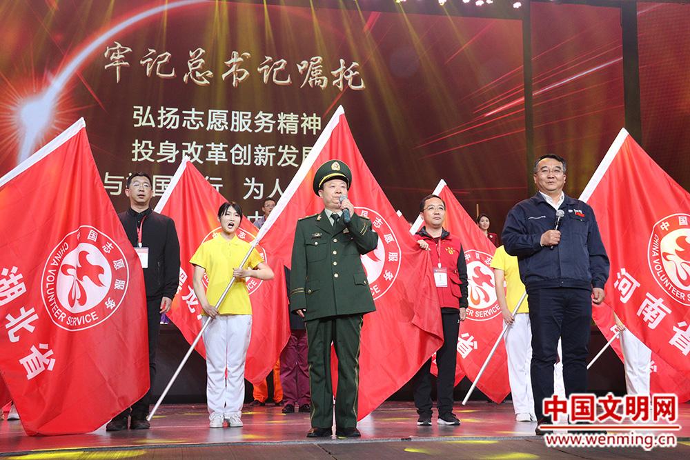 志愿服务先进典型现场交流活动在天津和平区举行