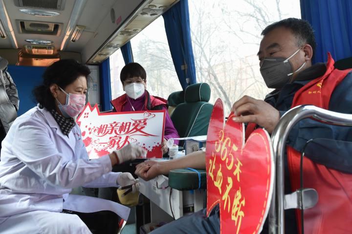 辽宁鞍山:抗疫时期更不能缺血