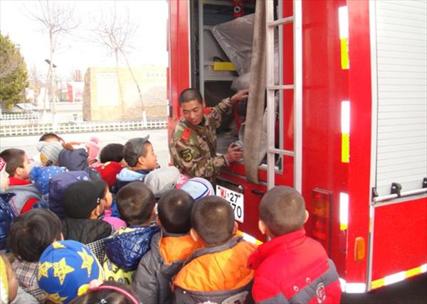 """[新疆]塔城市消防安全从""""小""""做起"""
